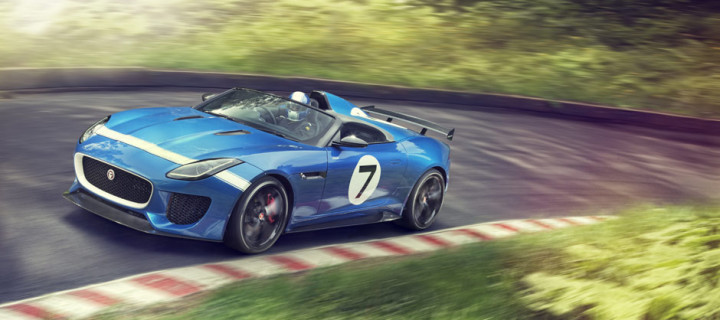 JAGUAR PROJECT 7 DEBUTS AT GOODWOOD FESTIVAL OF SPEED