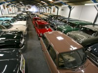 Jaguar Land Rover's Special Vehicle Operations division acquires 543 classic British cars to use in international heritage events