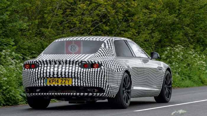 Aston Martin Rear SPy Pic