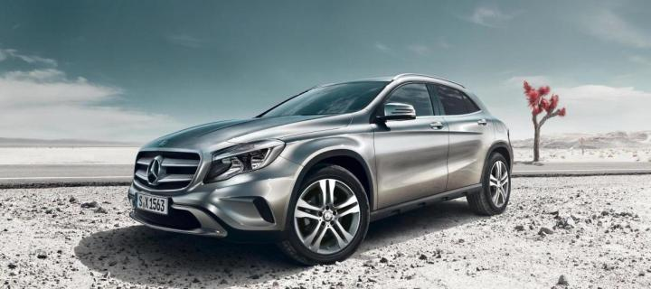 Mercedes benz gla class lauched in india at rs lacs for Mercedes benz gla class india