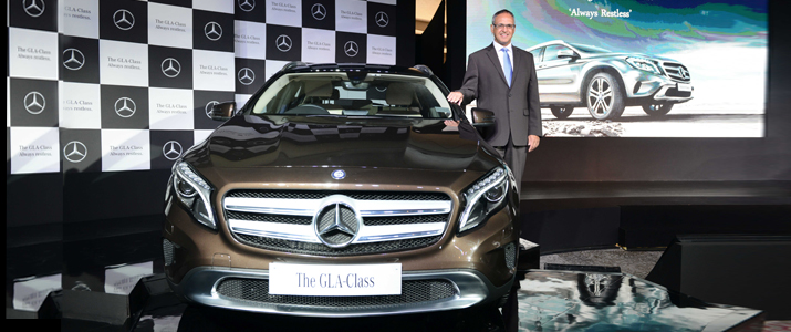 Mercedes benz gla class lauched in india at rs lacs for Mercedes benz roadside assistance phone number