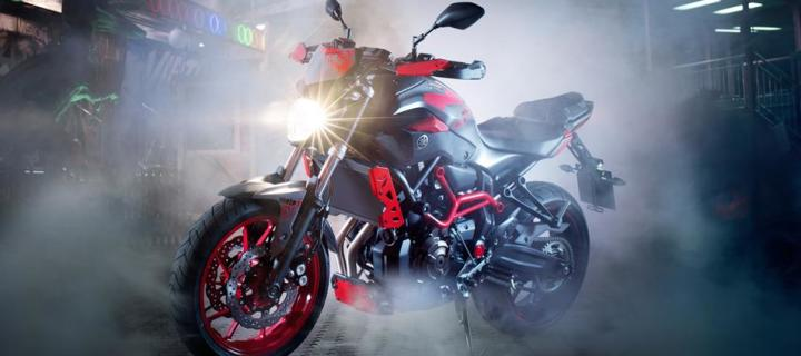 The Dark Side of Japan! 2015 Yamaha MT07 Moto Cage is all Ready for Stunts!