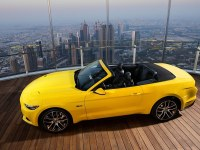 Mustang Rises! See How the 2015 Ford Mustang was Put on the World's Tallest Building – Burj Khalifa in Dubai