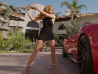 A Supermodel Smashes a Ferrari 458 with a Sledgehammer