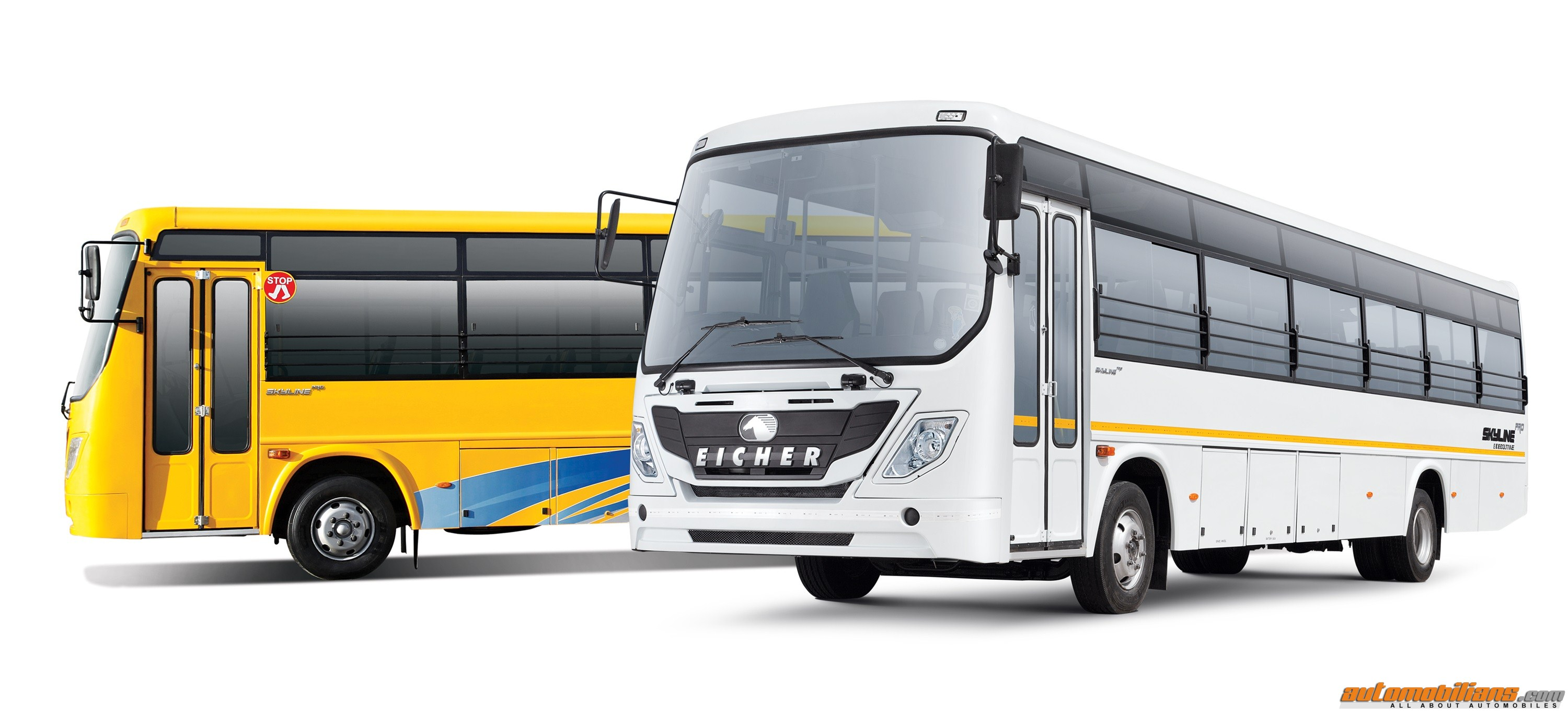 eicher launches new generation eicher skyline pro series buses all about. Black Bedroom Furniture Sets. Home Design Ideas
