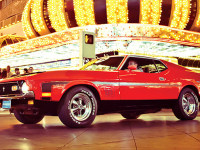 James Bond also Drove a 1971 Mustang Mach 1!