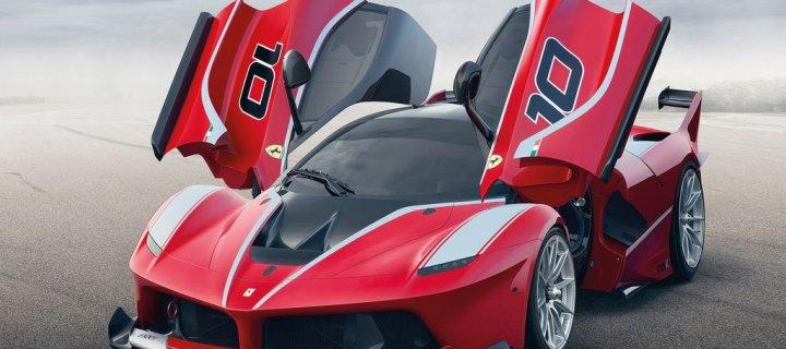 FXXK!! The Track-Only 1035HP LaFerrari Arrives! – 2015 Ferrari FXX K.  Merry Christmas!