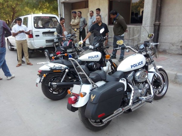Gujarat-Police-Motorcycle-Harley-Davidson