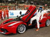 See and Hear How the V-12 Engine of a Ferrari FXX K Screams on Track!