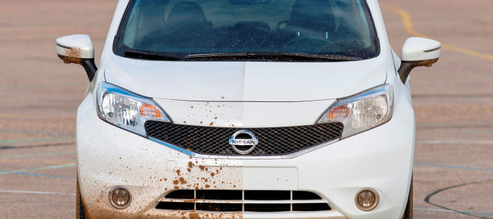 Nissan Develops First Ever Self-Cleaning Car Prototype, Calls it Nissan Note