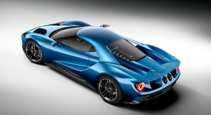 2017 ford gt unveiled at detroit motor show a carbon fiber sports car all. Black Bedroom Furniture Sets. Home Design Ideas