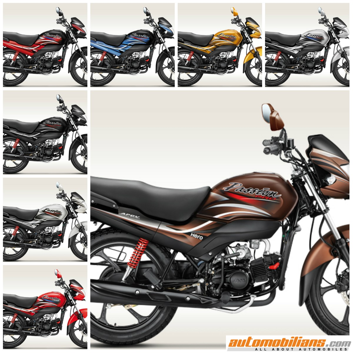 Hero Motocorp Silently Launches 2015 Passion Pro In India Prospeed Black Series Kawasaki N250r Full Colours Copy