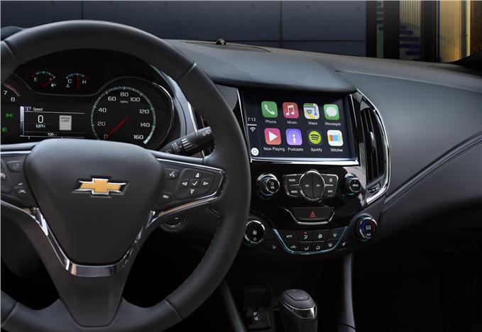 2016 Chevrolet Cruze interior