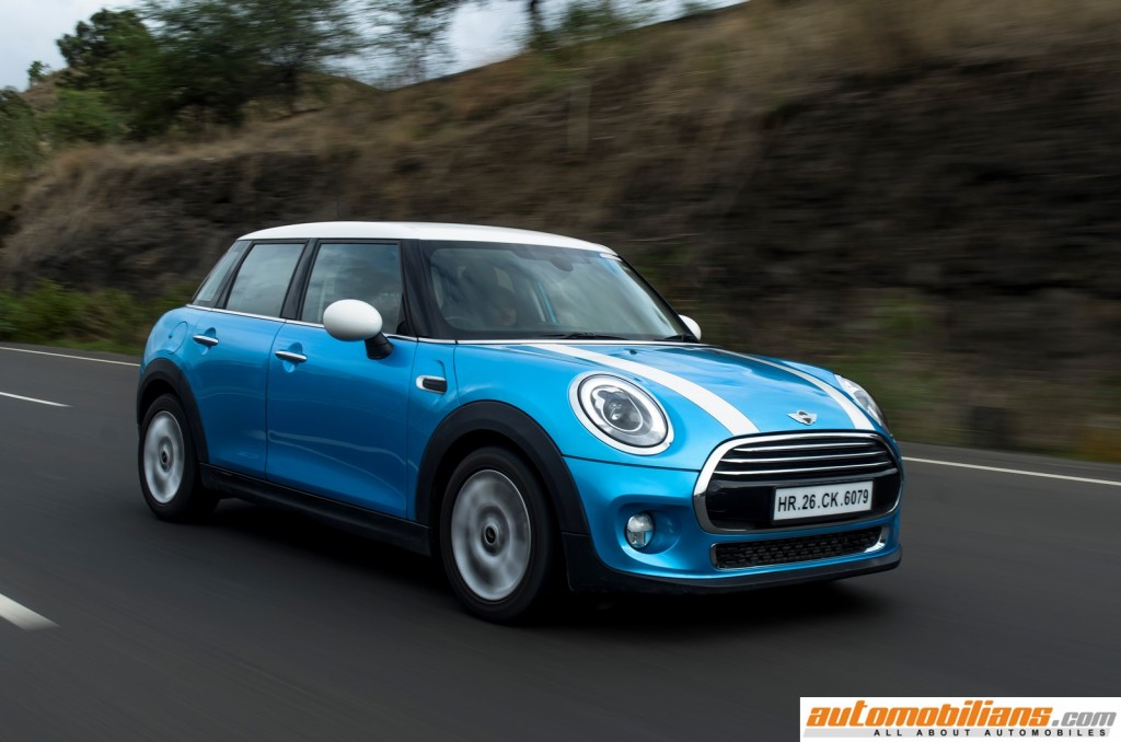 2015 MINI Cooper D 5-Door - Hardtop - Exterior - Test Drive Review - Automobilians.com