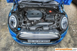 2015 MINI Cooper D 5-Door - Hardtop - Engine - Test Drive Review - Automobilians.com