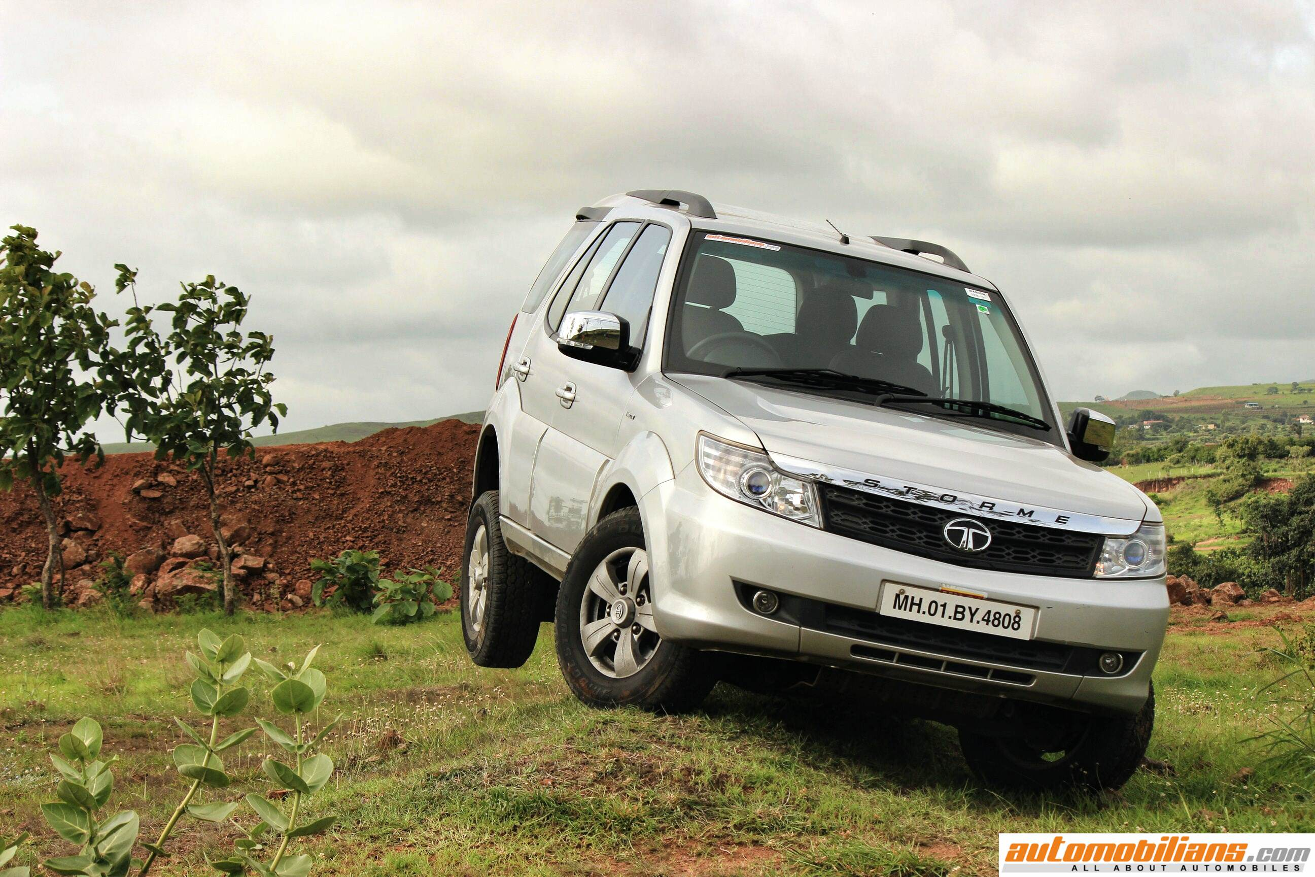 2015 Storme Review 2015 Tata Safari Storme Test Drive