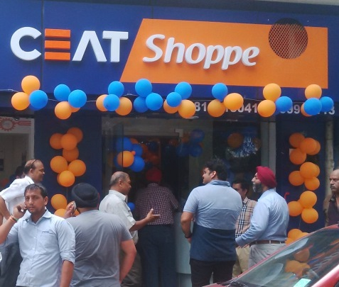 CEAT Shoppe in New Delhi
