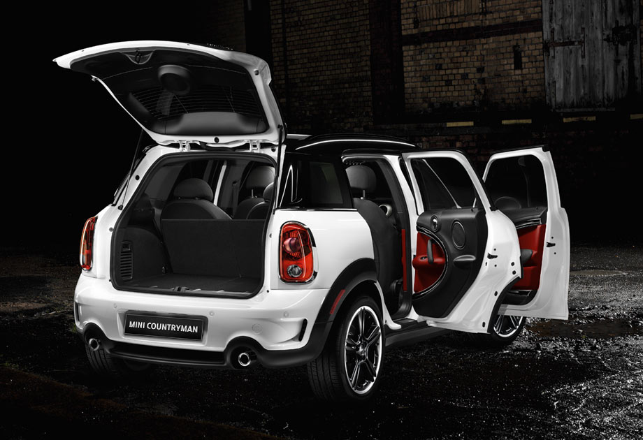 The four-door Countryman is as big on space as it is on fun.