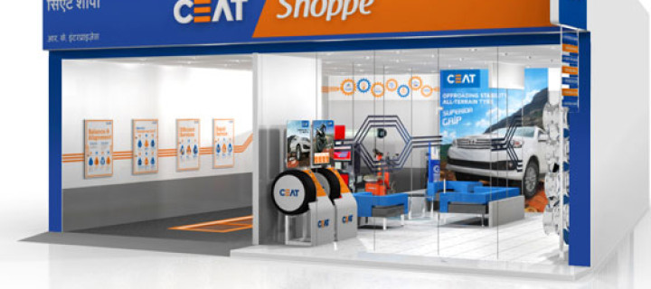 CEAT Opens CEAT Shoppe Shop In New Delhi