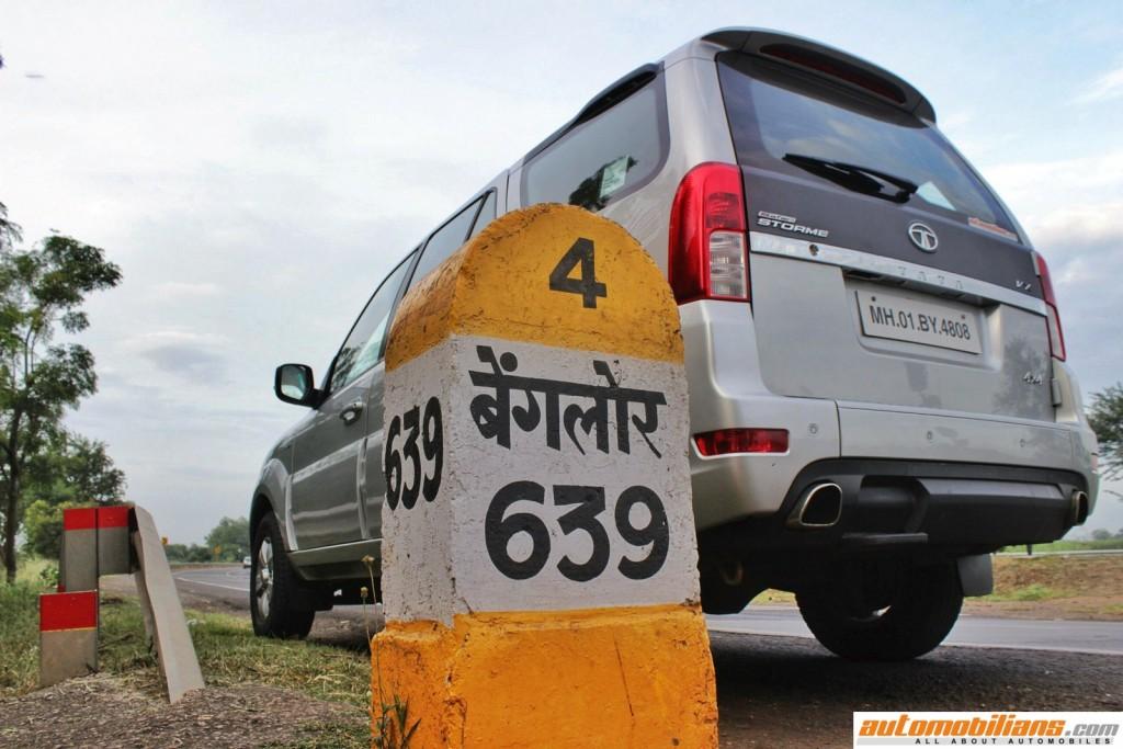 Travelogue - Pune - Bangalore - 2015 Tata Safari Storme 4x4 (1)