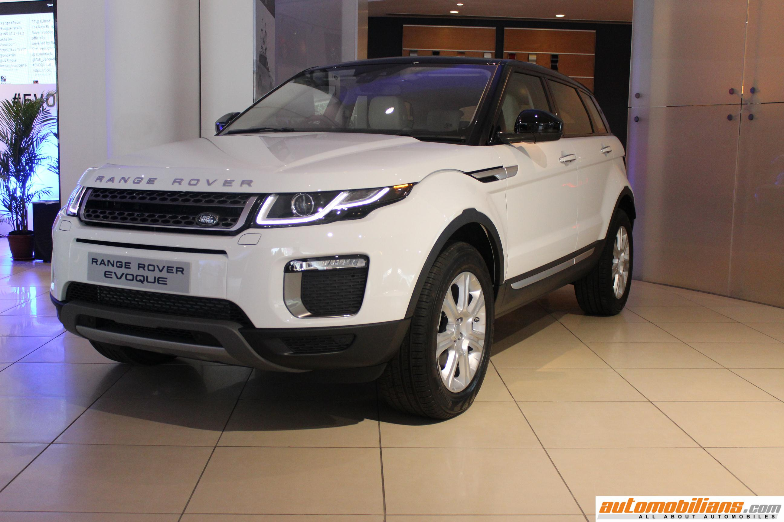 2016 range rover evoque launched in india at rs lakhs range rover evoque evoque 2016. Black Bedroom Furniture Sets. Home Design Ideas