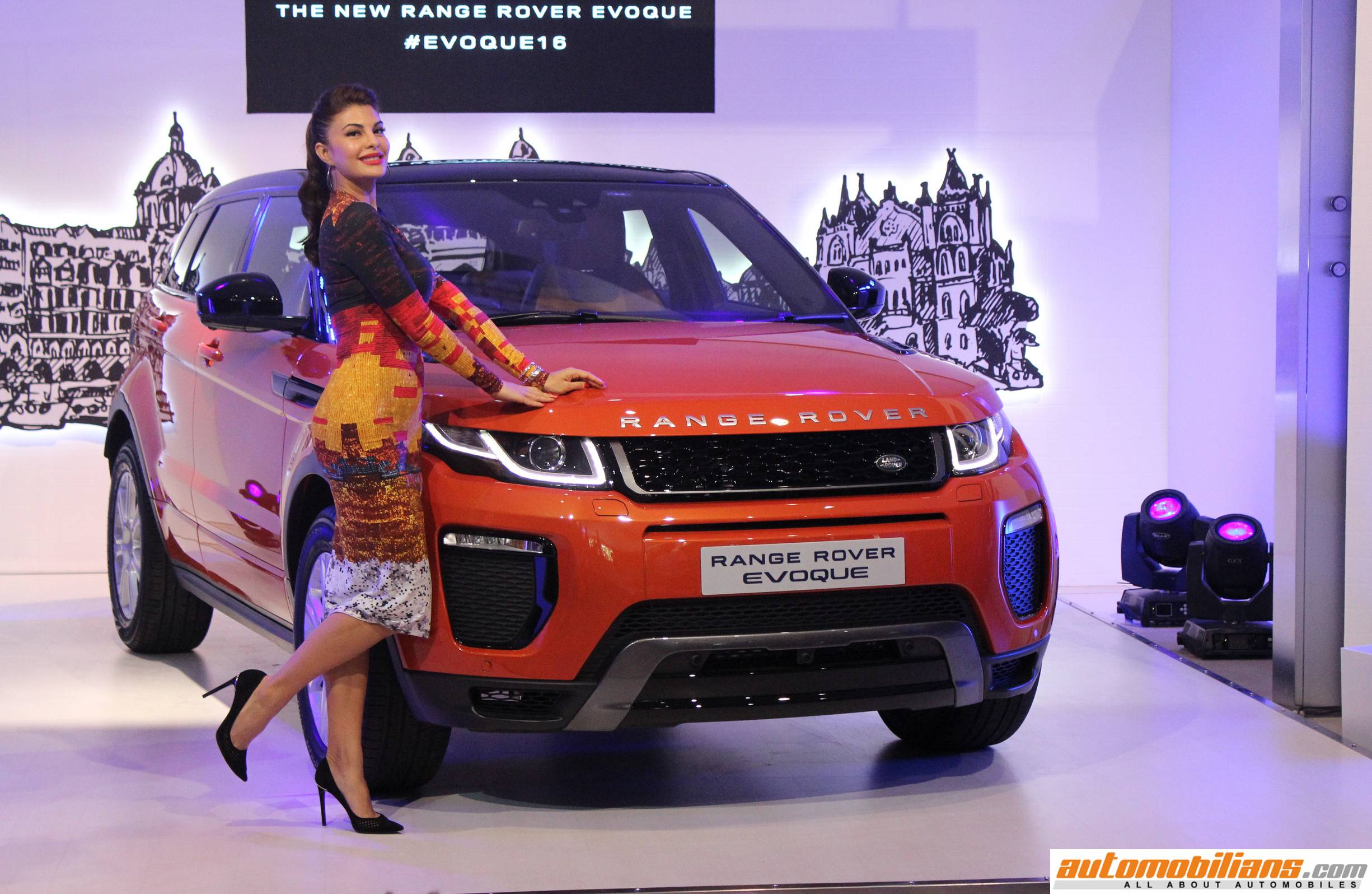 2016 Range Rover Evoque Launched In India At Rs 47 10 Lakhs Range