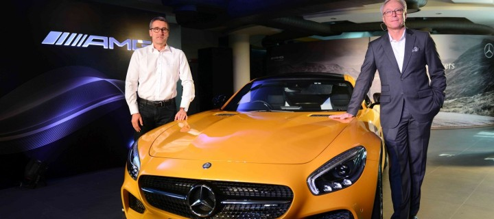 2015 Mercedes-AMG GT S Launched In India At Rs. 2.40 Crores (Ex-Showroom, Delhi)