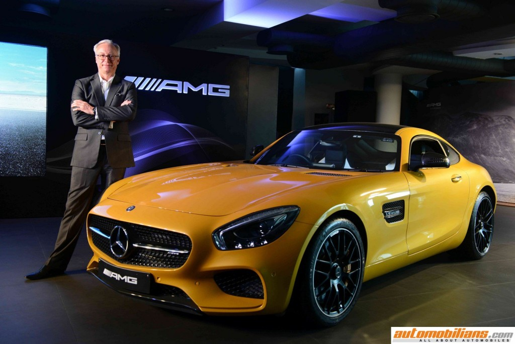 Mr. Roland Folger, MD&CEO, Mercedes-Benz India at the Launch of AMG GT S (1) (Copy) (Copy)