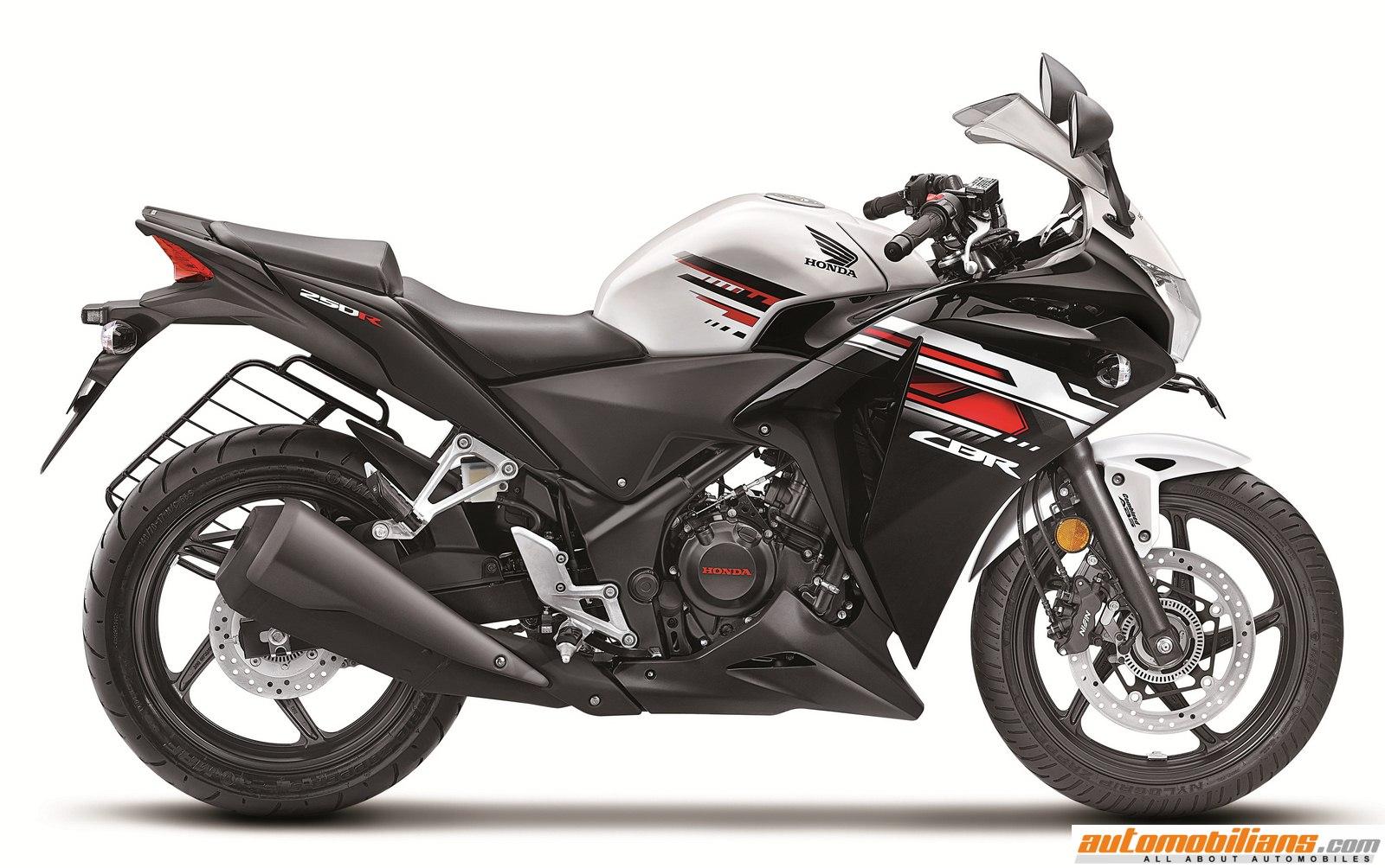 Bike stickers design for cbr 150 - New Honda Cbr 150r 250r Launch Automobilians 1