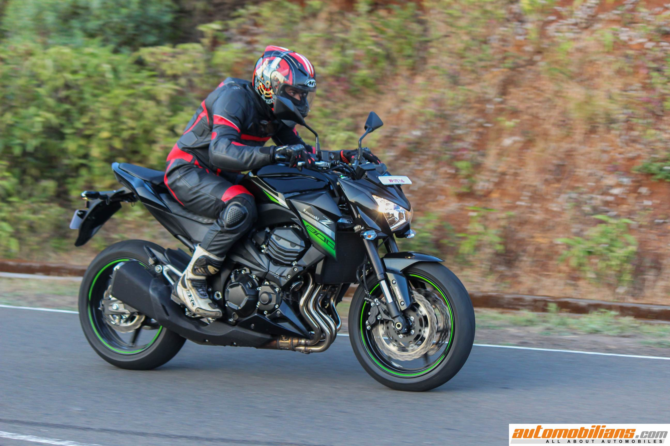 automobilians - 2016 kawasaki z800 abs - test ride review