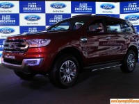 2016 Ford Endeavour Launched In India At Rs. 24.75 Lakhs (Ex-Showroom, Mumbai)