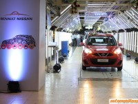 One Millionth Car Rolls Off The Renault-Nissan Automotive Plant In Chennai