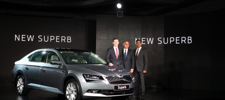 2016 Skoda Superb Launched In India At Rs. 22.68 Lakhs (Ex-Showroom, Mumbai)