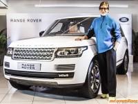 Mr. Amitabh Bachchan Buys Himself The Range Rover Autobiography