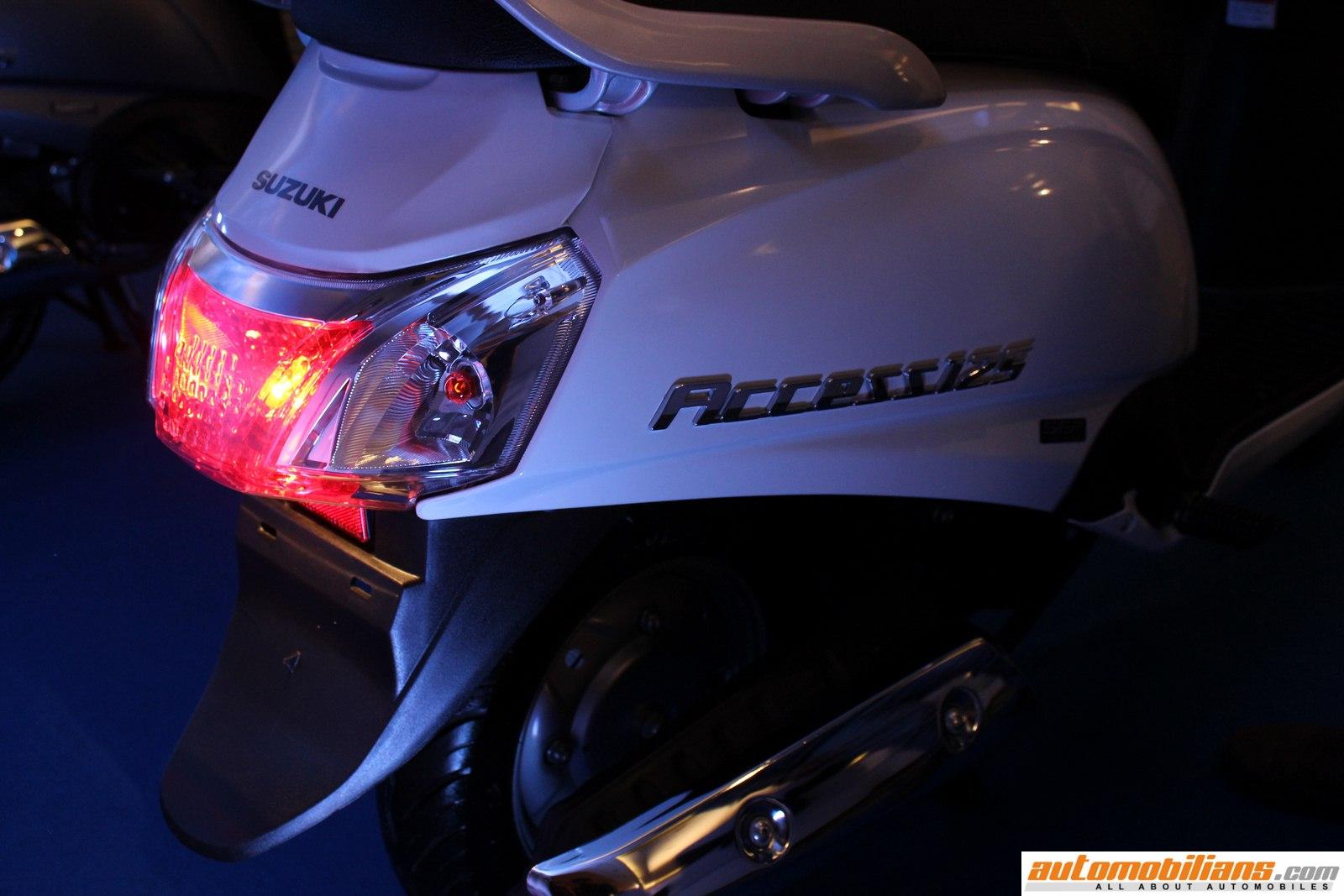 Automobilians.com - 2016 Suzuki Access 125 Launched In India At Rs. 55,332/- (Ex-Showroom, Pune)