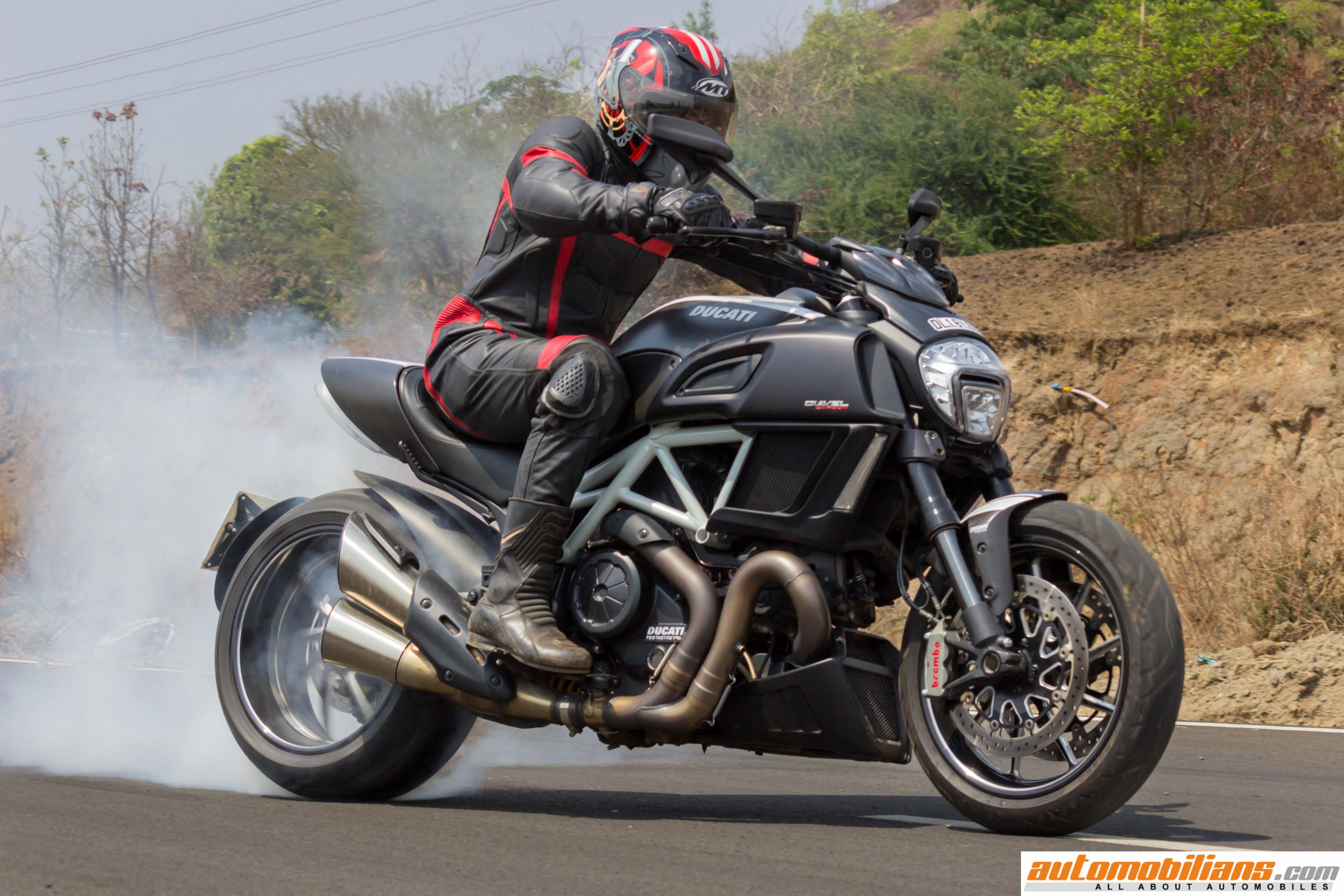 Automobilians Com 2016 Ducati Diavel Carbon Test Ride Review