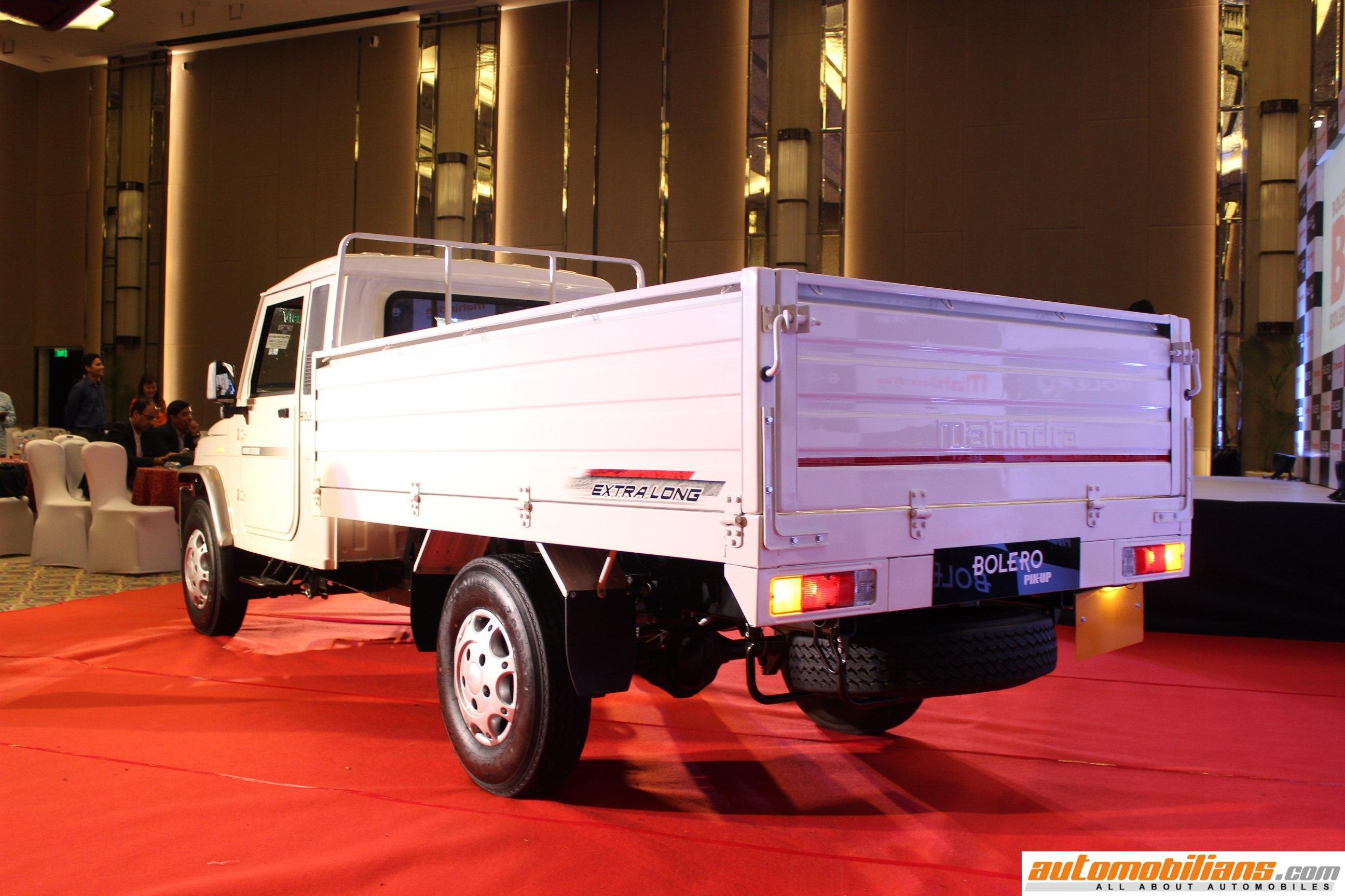Automobilians Com Mahindra Big Bolero Pik Up Launched In