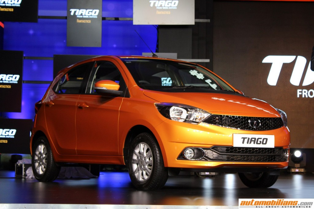 Automobilians Com Tata Tiago Launched In India At Rs 3