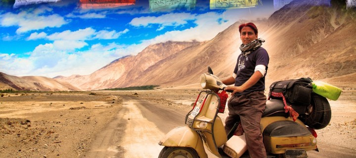Impossible Is Just An Excuse|In Conversation with Narendra Kumar Gautam – The Scooterist!
