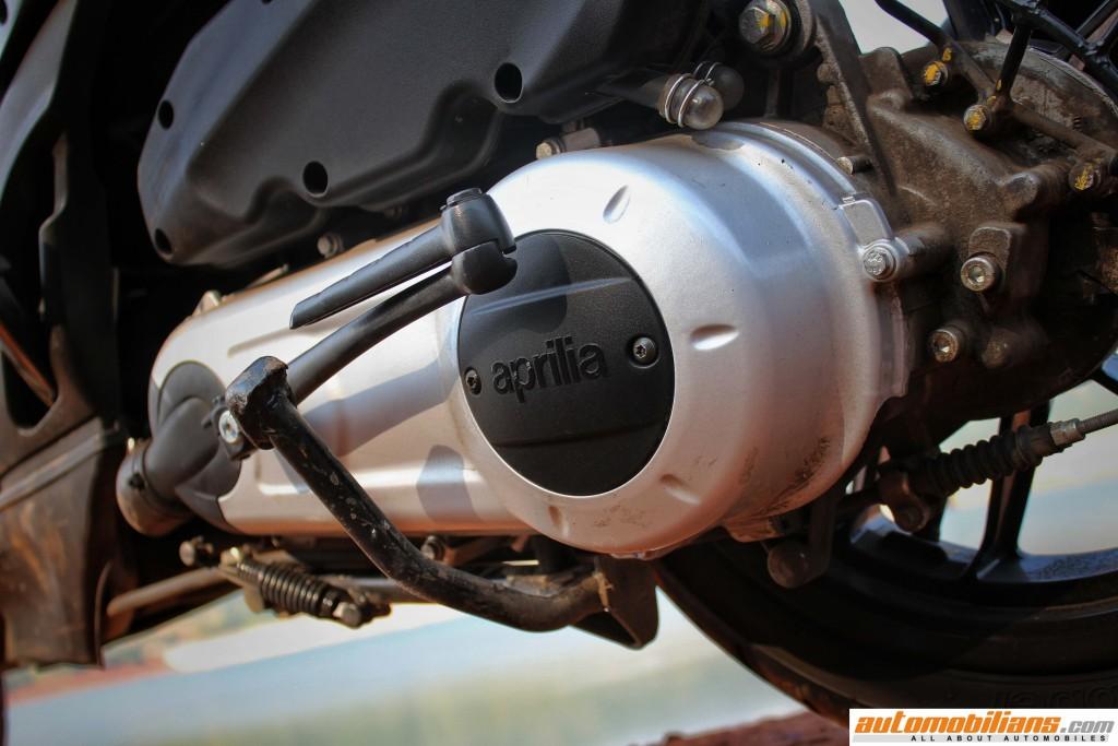 Aprilia-SR-150-Review-Engine