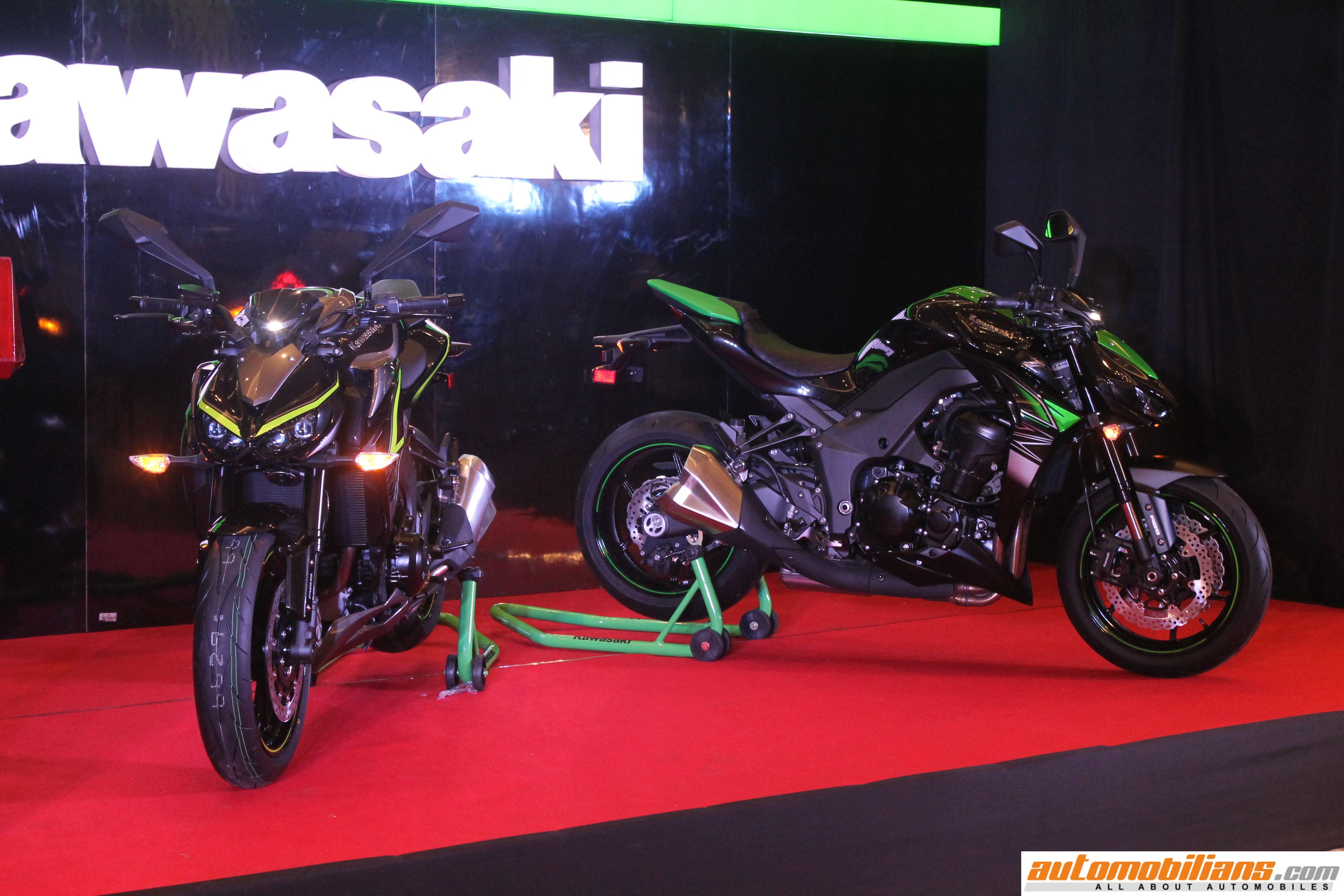2017 Kawasaki Z250, Z1000 & Z1000R Launched In India