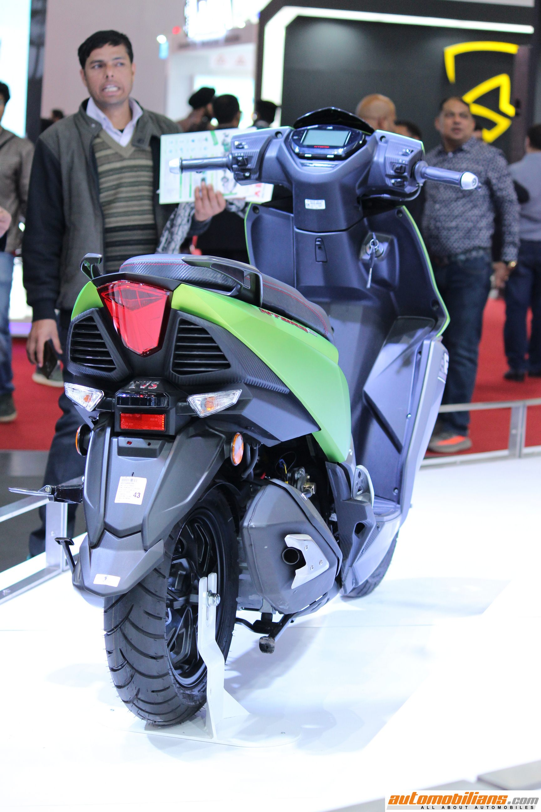 Battery Kill Switch >> 2018 TVS NTorq 125 Launched In India At Rs. 60,850/- (Ex ...