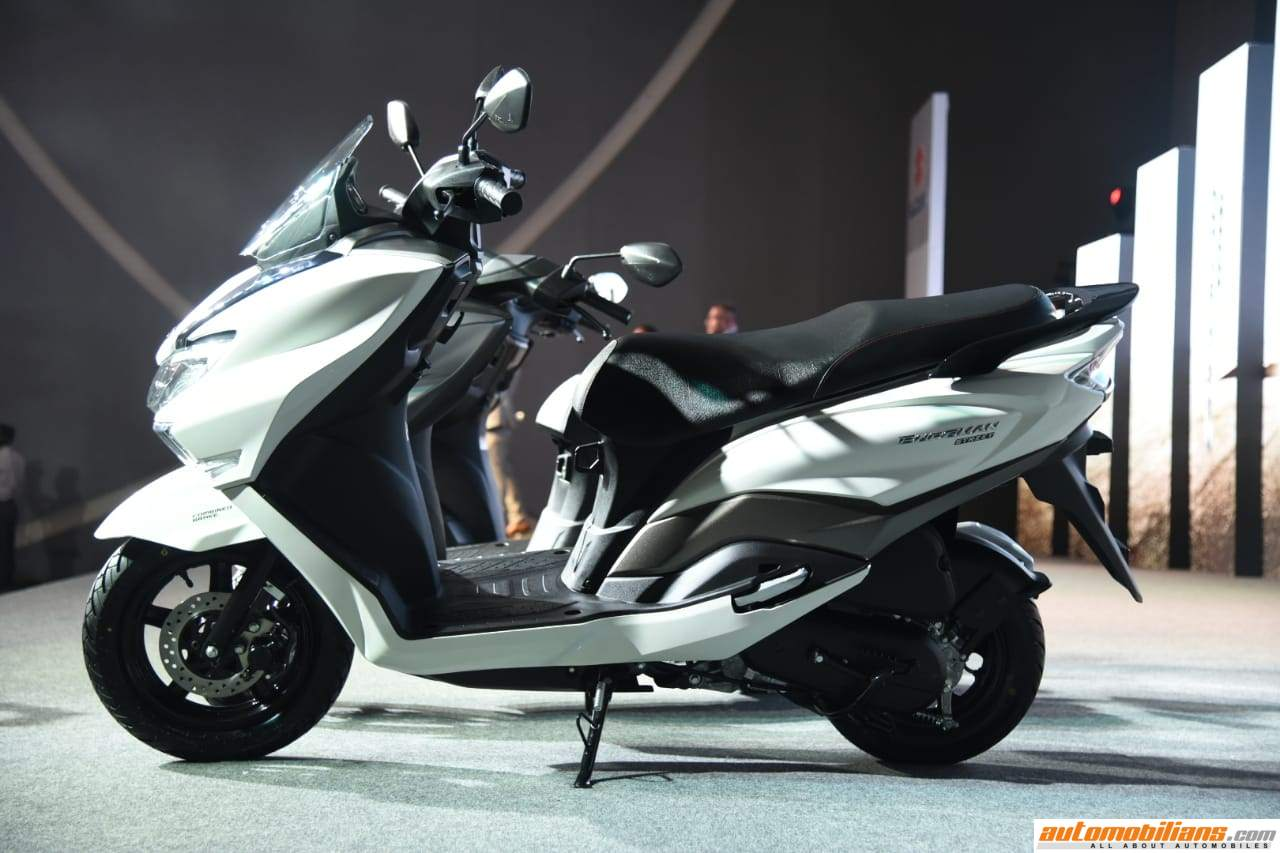 2018 Suzuki Burgman Street Launched In India At Rs  68,000