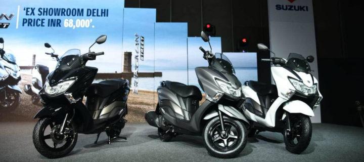 2018 Suzuki Burgman Street Launched In India At Rs. 68,000/- (Ex-Showroom, Delhi)