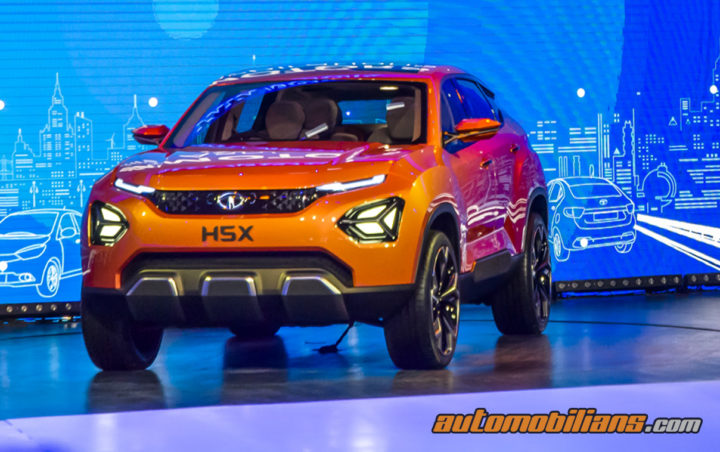 Tata H5X concept is now Tata Harrier Expected to launch in early 2019