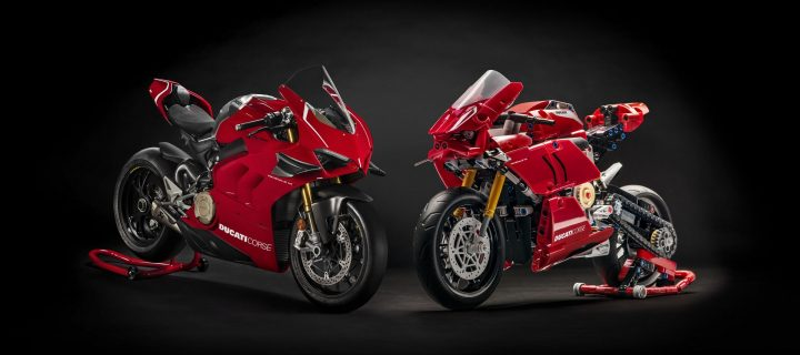Ducati Panigale V4 R Is The First Ducati LEGO Technic Kit