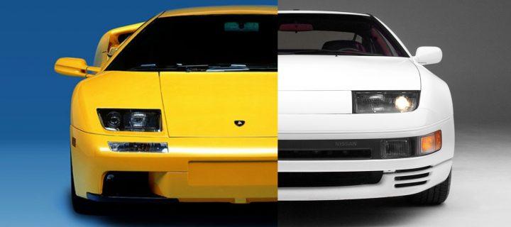 Did Lamborghini Use Nissan Headlights On The Diablo?