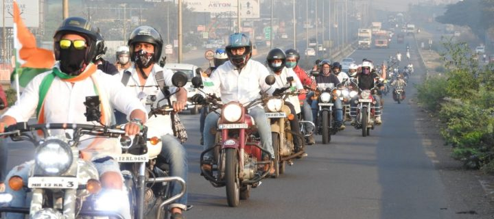 Royal Enfield Creates Awareness For Minimizing The Use Of Plastic On Republic Day Ride